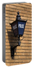 The Blue Lamp Portable Battery Charger by Ron Harpham