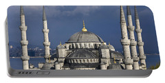 The Blue Mosque In Istanbul Portable Battery Charger
