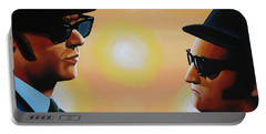 The Blues Brothers Portable Battery Charger