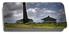 The Bolivar Lighthouse Portable Battery Charger by Linda Unger