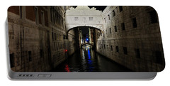 The Bridge Of Sighs Portable Battery Charger