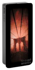 The Brooklyn Bridge Portable Battery Charger by Edward Fielding