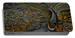 The Brown Trout Portable Battery Charger