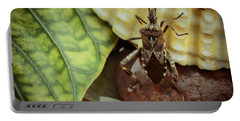 The Bug The Shell And The Leaf Portable Battery Charger