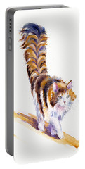 The Calico Cat That Walked By Himself Portable Battery Charger