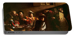 Caravaggio Paintings Portable Battery Chargers