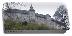 Portable Battery Charger featuring the photograph The Castle In Autumn by Felicia Tica