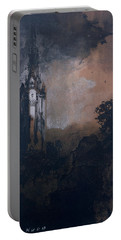 The Castle In The Moonlight  Portable Battery Charger