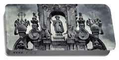 The Cathedral Of Santiago De Compostela Portable Battery Charger