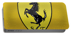 The Cavallino Rampante Symbol Of Ferrari Portable Battery Charger
