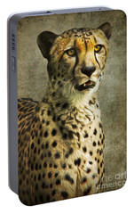 The Cheetah Portable Battery Charger by Angela Doelling AD DESIGN Photo and PhotoArt