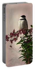 The Chickadee Portable Battery Charger by Davandra Cribbie