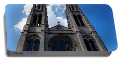 Portable Battery Charger featuring the photograph The Church by Matt Harang