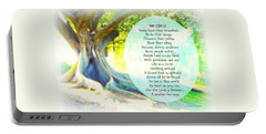 Portable Battery Charger featuring the photograph The Circle by Leanne Seymour