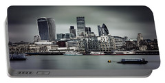 The City Of London Portable Battery Charger by Ian Good
