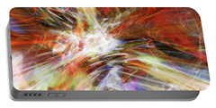 Portable Battery Charger featuring the digital art The Cleansing by Margie Chapman