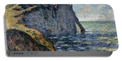 The Cliff Of Aval, Etretat, 1885 Portable Battery Charger