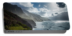 The Cliffs Of Kalalau Portable Battery Charger