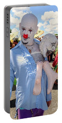 Portable Battery Charger featuring the photograph The Clown by Ed Weidman