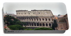 The Coliseum  Portable Battery Charger by Debi Demetrion