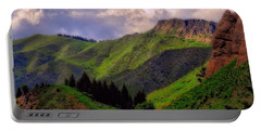 The Colors Of Wyoming In Summer Portable Battery Charger
