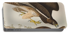The Common Buzzard Portable Battery Charger by John James Audubon