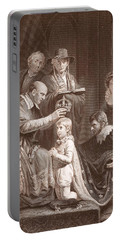 The Coronation Of Henry Vi, Engraved Portable Battery Charger by John Opie
