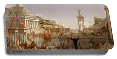 The Course Of Empire Consummation  Portable Battery Charger