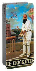 The Cricketers Portable Battery Charger by Peter Green