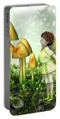 The Curious Fairy Portable Battery Charger by Jayne Wilson