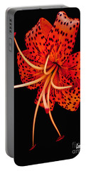 The Dance Of The Tiger Lily  Portable Battery Charger
