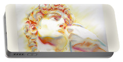 The David By Michelangelo. Tribute Portable Battery Charger