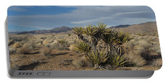 The Desert In Winter Portable Battery Charger
