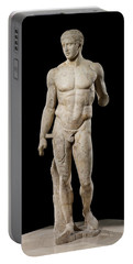 The Doryphoros Of Polykleitos Portable Battery Charger