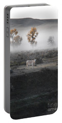 Portable Battery Charger featuring the photograph The Dream Cow Of Mourning by Brian Boyle