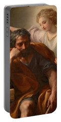 The Dream Of St Joseph Portable Battery Charger