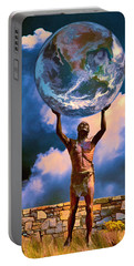 The Earth Is In Our Hands Portable Battery Charger