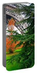 The Eiffel In Fall Portable Battery Charger
