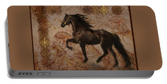 Portable Battery Charger featuring the photograph The Emperor's Stallion by Melinda Hughes-Berland