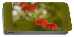 The Essence Of Autumn Portable Battery Charger by Nick  Boren