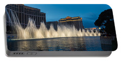 The Fabulous Fountains At Bellagio - Las Vegas Portable Battery Charger