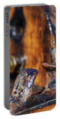 Portable Battery Charger featuring the photograph The Fairlead by Wendy Wilton