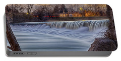 The Falls Of White River Portable Battery Charger