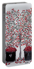 The Famous Door County Cherry Tree Portable Battery Charger