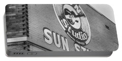 The Famous Sun Studio In Memphis Tennessee Portable Battery Charger