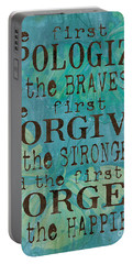 Poetry Paintings Portable Battery Chargers