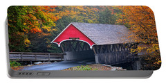 The Flume Covered Bridge Portable Battery Charger