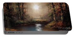 Sunrise Forest  Portable Battery Charger