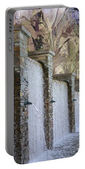 Portable Battery Charger featuring the photograph The Fountain by Athala Carole Bruckner