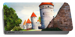 The Four Old Towers Estonia Portable Battery Charger